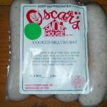 oscar's smoke house bratwurst